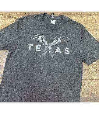 Mason Jar Label Texas Pistols Tee