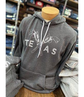 Mason Jar Label Texas Pistols Hoodie