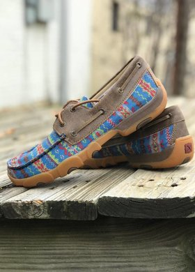 Twisted X Twisted X Serape Boat Shoe
