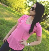 Z Supply The Pocket Tee in Pink Lemonade
