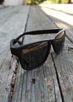 Vexil Bandera Black Matte Grey Sunglasses