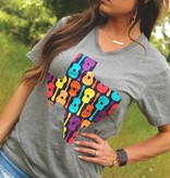 Diamond T Outfitters Colorful Guitar Tee