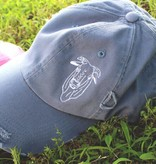 Diamond T Outfitters The Bull Distressed Cap Blue