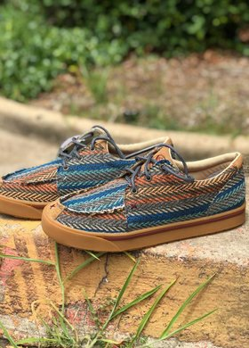Twisted X Twisted X Hooey Canvas Multi Pattern Loper
