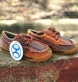 Twisted X Youth Twisted X Hooey Canvas Multi Pattern Loper
