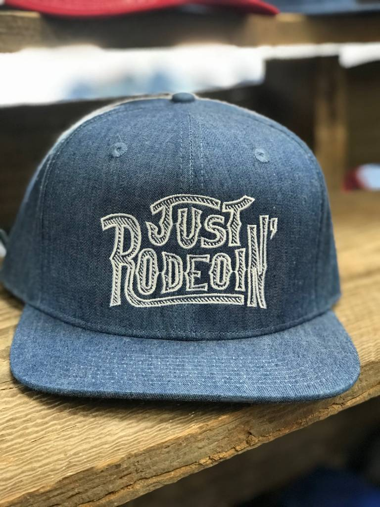Dale Brisby Just Rodeoin' Cap Denim