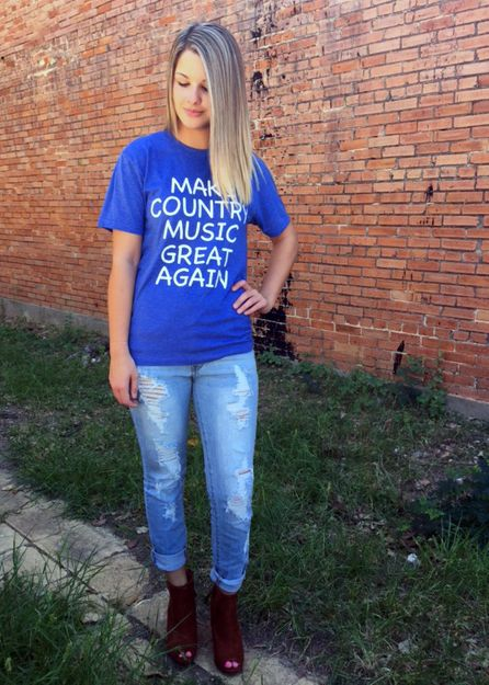Country Music Great Again Tee