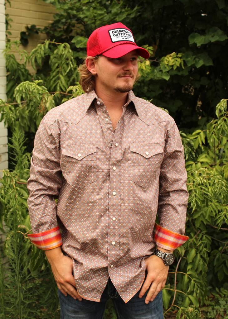 Panhandle Slim Roughstock Pendleton Long Sleeve Pearl Snap