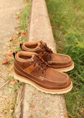 Twisted X Twisted X Saddle Oiled Casual Shoe
