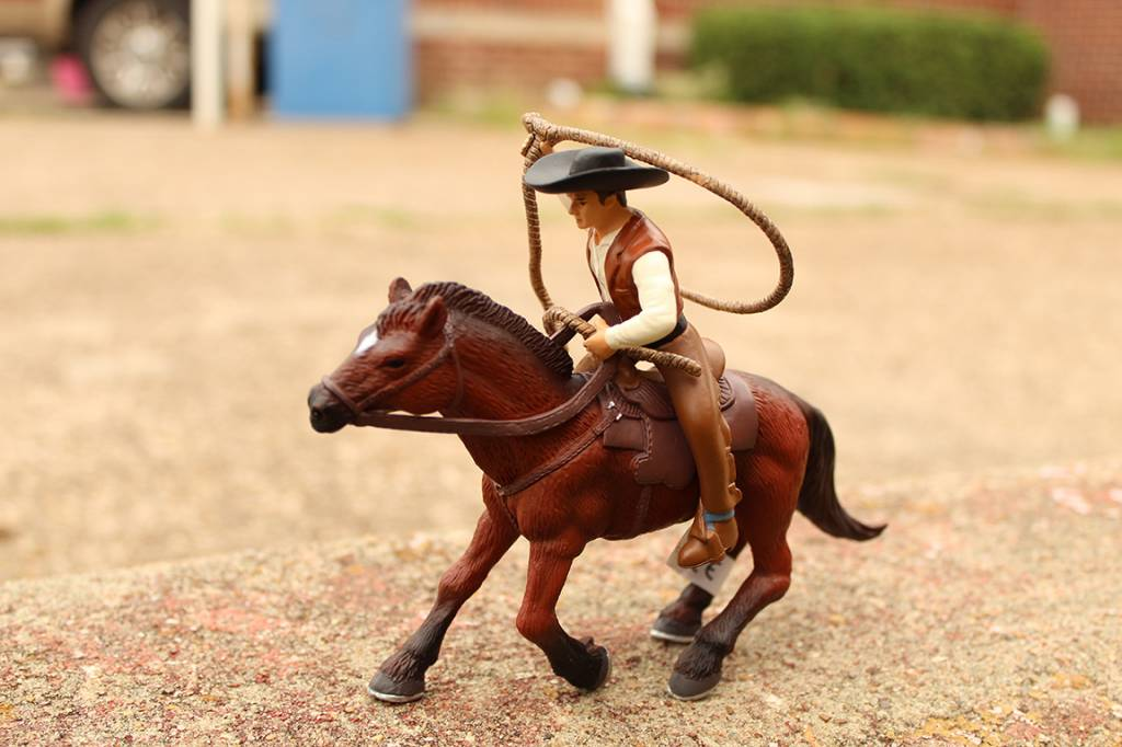 Little Buster Toys Horse & Cowboy (Roping)