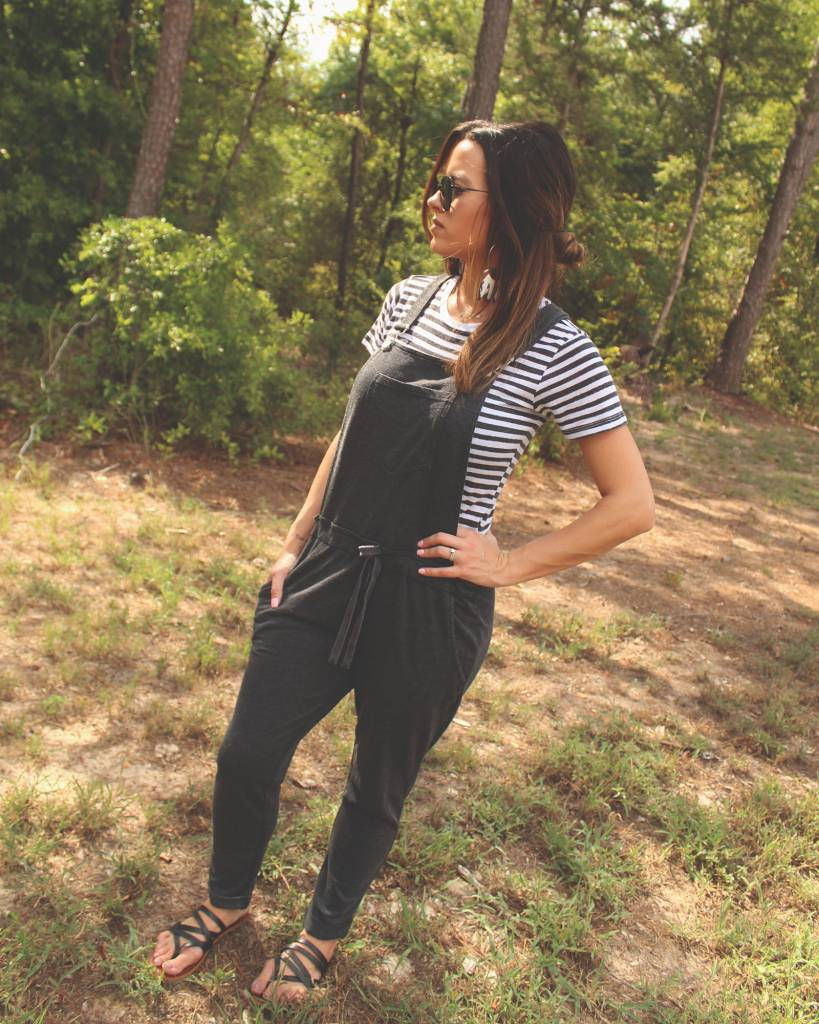 Diamond T Outfitters The Black Overalls