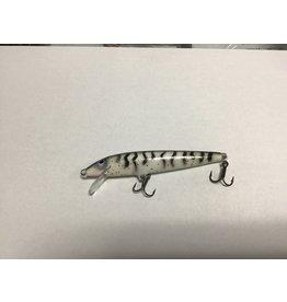 D&B Fishing Custom Rapala Glitter Zebra F-9