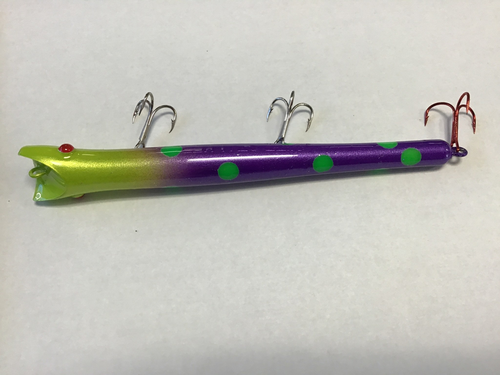 "Wicked Custom jigs Custom Pencil Plug ""Mojito"""
