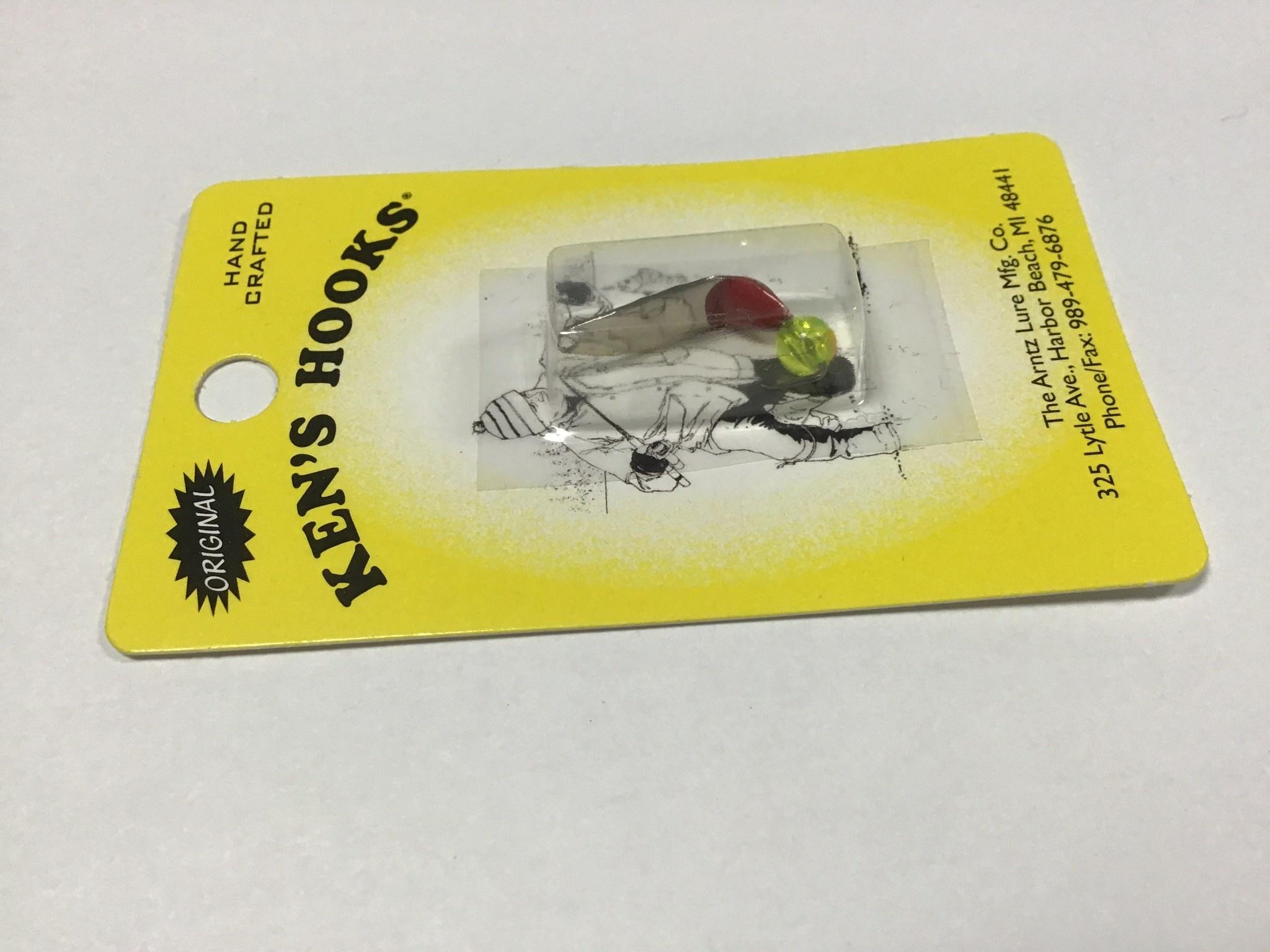 Arntz Lure Mfg Co. Ken's Hook Willow Clear Chart. #2
