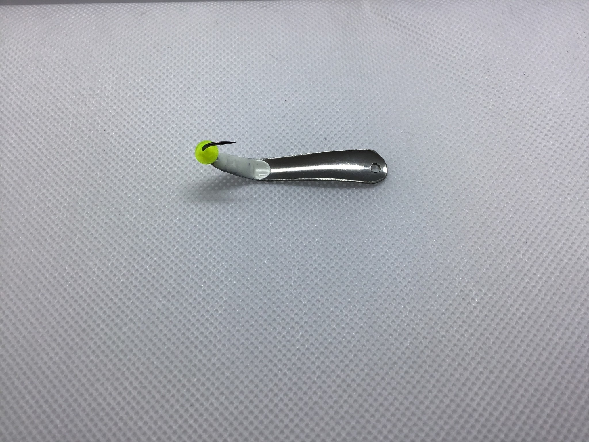 Mcgathys Hooks LLC SG Thin Fin nickel ClrChartr