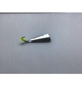 "Mcgathys Hooks LLC Slab Grabber 2"" Fan nickel Clr Chartr"