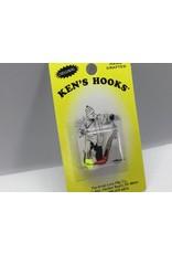Arntz Lure Mfg Co. Ken's Hook Willow Clear Chart #3