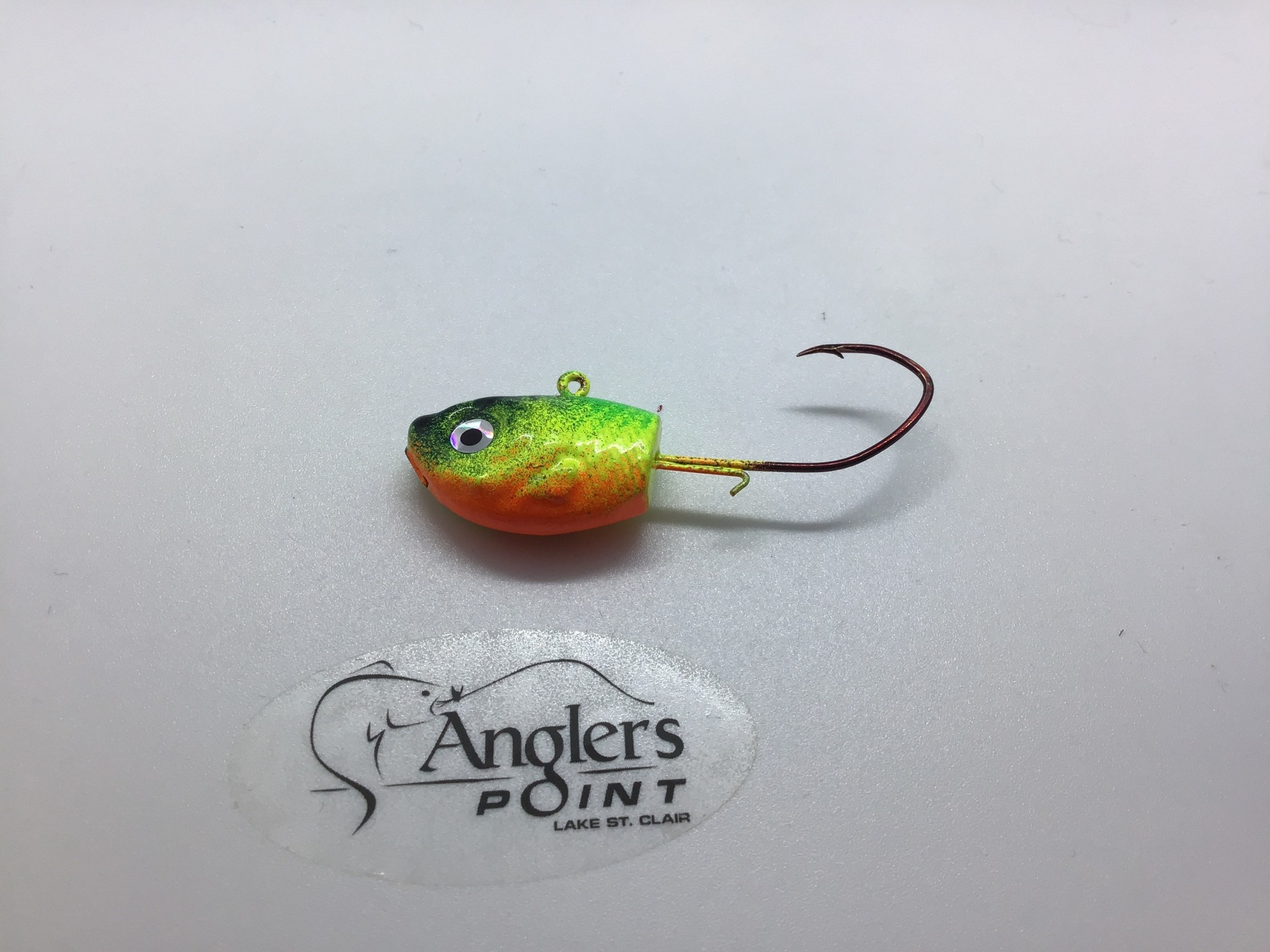 off the hook rich St. Clair Shiner Firetiger Jig 1 oz. 3pk.