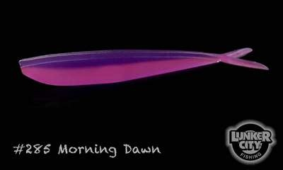"Lunker City Fishing Specialties Fin-s 4"" Morning Dawn #285"