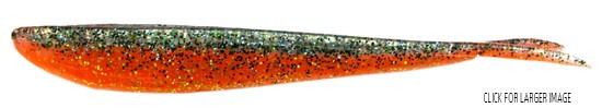 "Lunker City Fishing Specialties Fin-s 4"" Metallic Carrot #169"