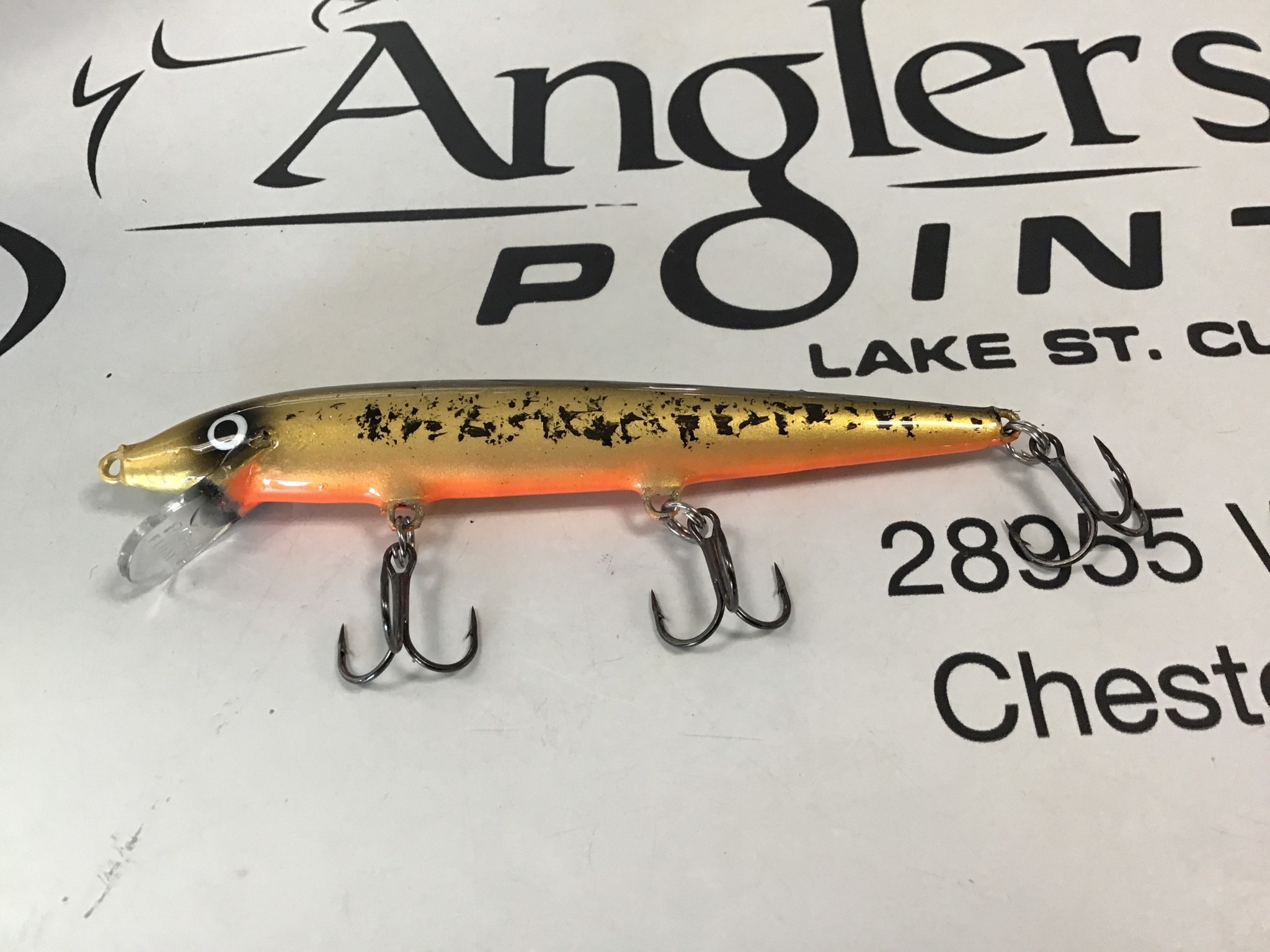 Wicked Custom jigs WCustom Rapala #806 F-11