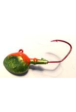 Domka Minnow Head Hot Antifreeze Jig 3/4 oz. 3pk.