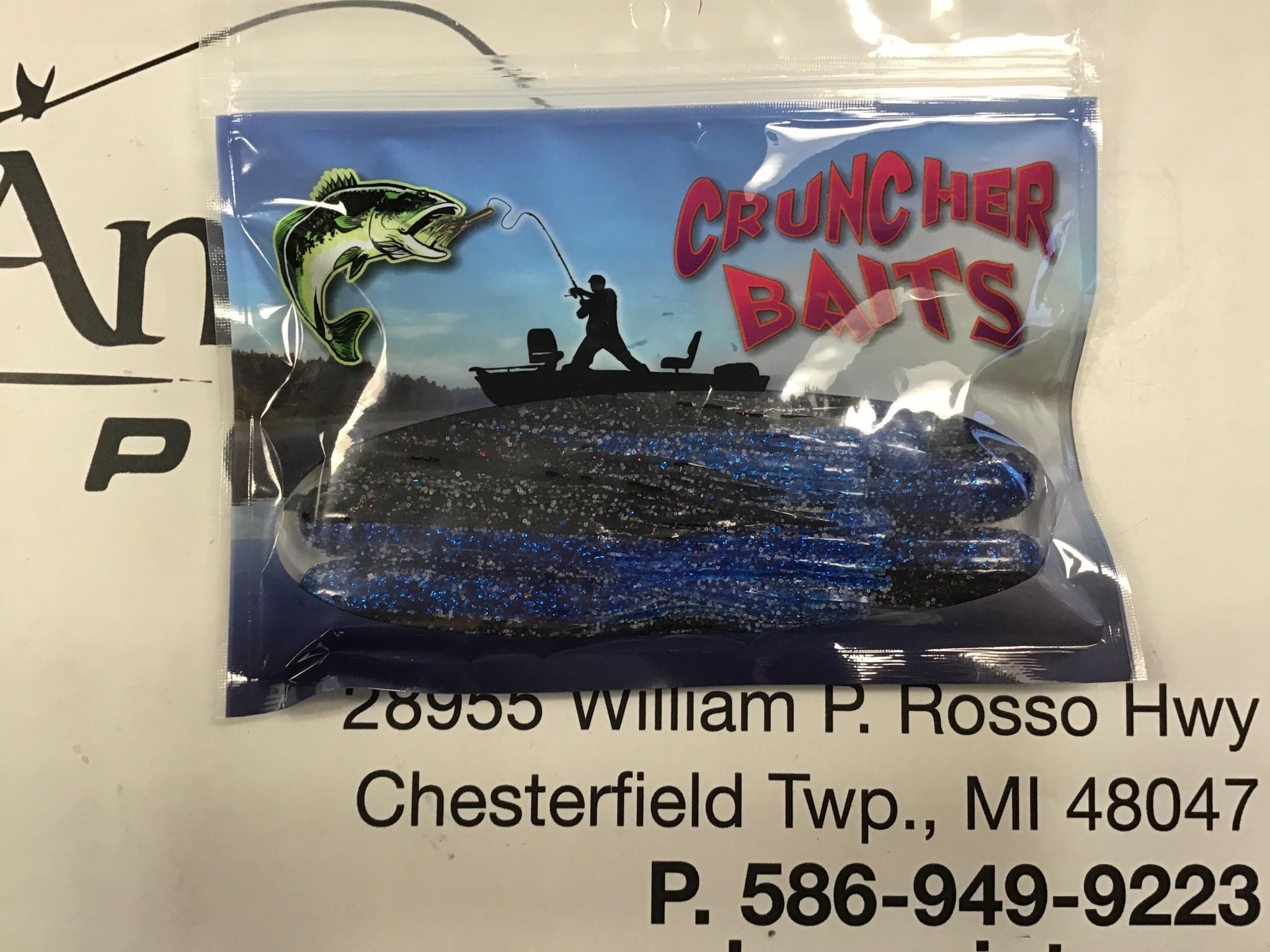 Cruncher Baits S & L Cruncher Baits Black Sapphire