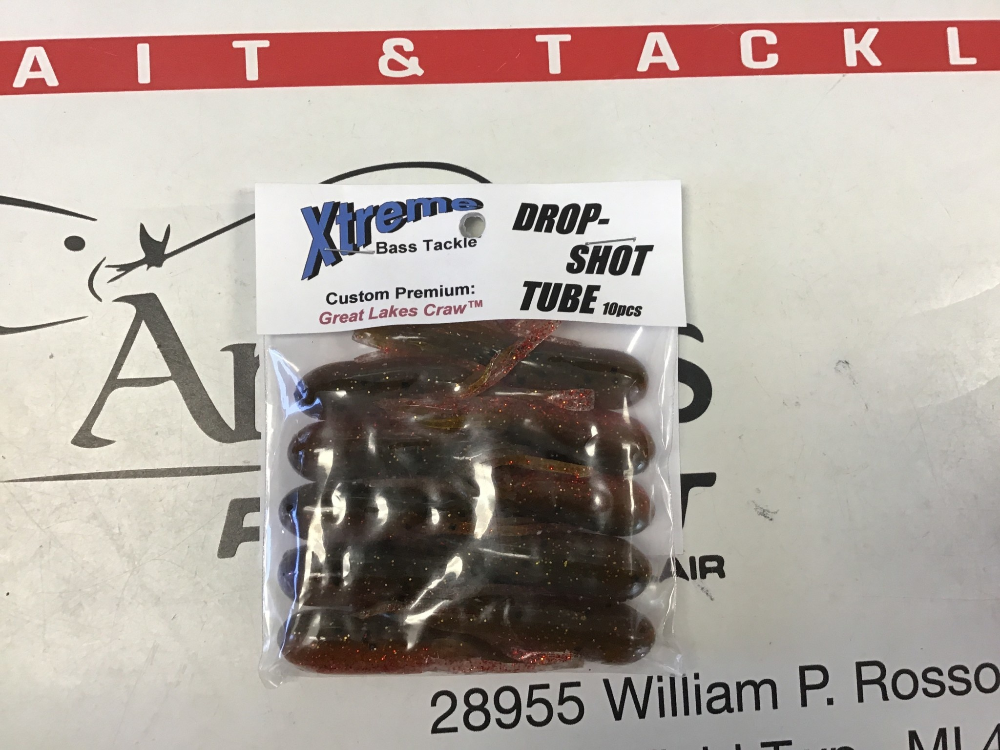 Xtreme Bass Tackle Tube-DST Great Lakes Craw