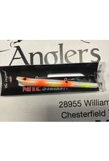 GS Pencil Plug Pearl/Chartreuse Orange Spots