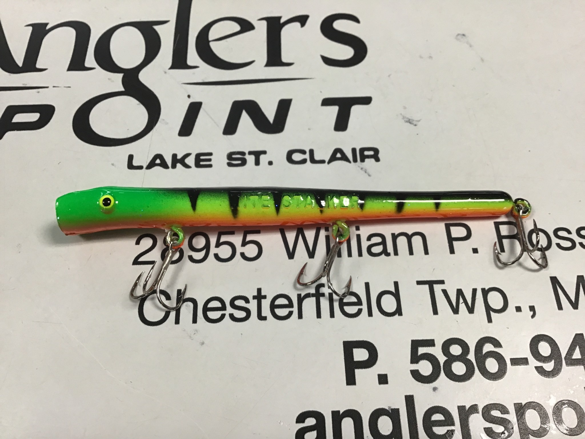 Wicked Custom jigs WC Pencil Plug #245