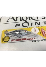 WCustom FLicker Shad #7 Spotted White