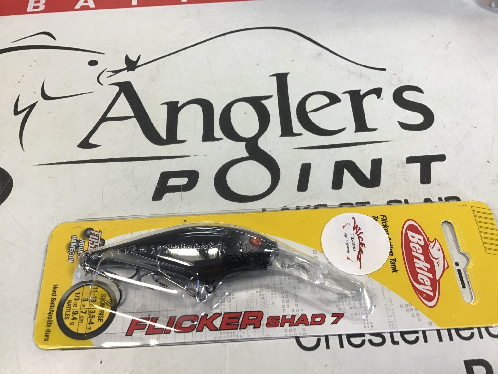 WCustom Flicker Shad #7 #418