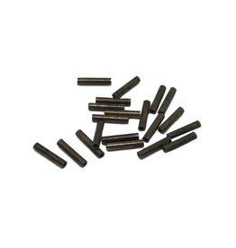 Hagens Crimp sleeve black C0 20pk