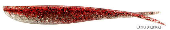 """Lunker City Fishing Specialties Fin-s 4"""" Red Ice #31"""