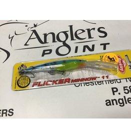 JT Custom Tackle JTC Flicker Minnow #11 Electric Perch