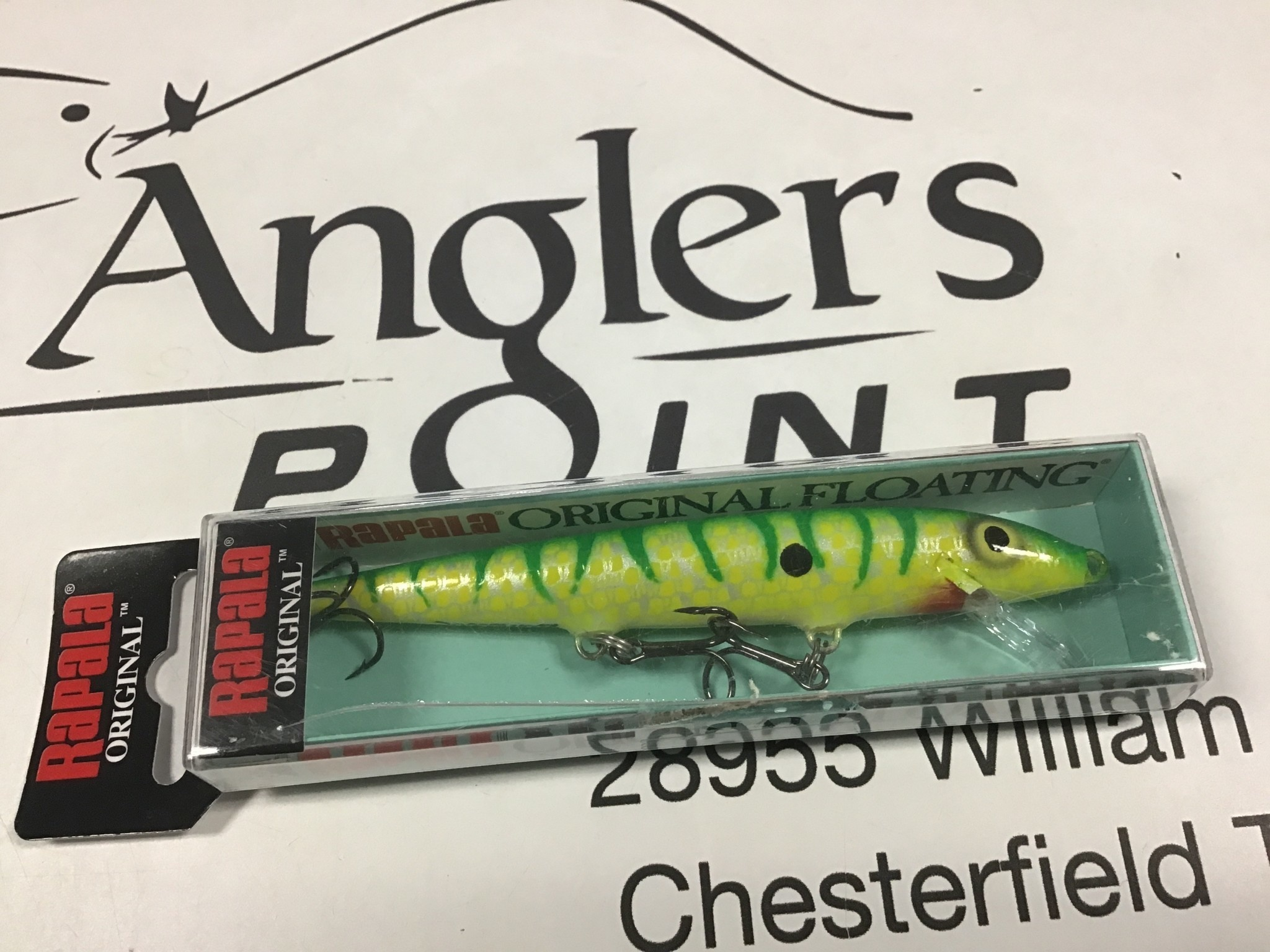 lurewhore LWCustom Rapala F-11 Green Scatterscale Tiger15.99