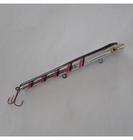 AP Custom Nite Stalker Chrome Pink/Black Ladderback Pencil Plugs