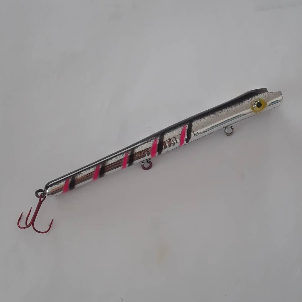 AP Custom - Nite Stalkers Orig Chrome Pink/Black Ladderback Pencil Plugs