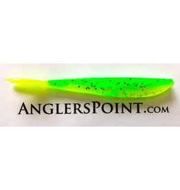 "Lunker City Fishing Specialties Fin-s 4"" Firetiger/ Chart tail #265"