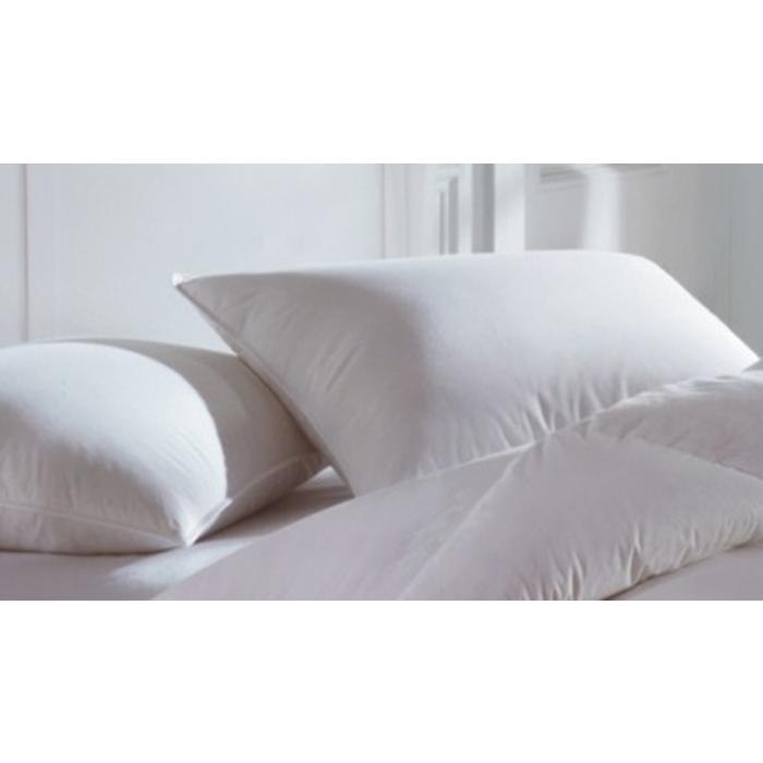 White Goose Down/Feather Pillow with label 22oz.