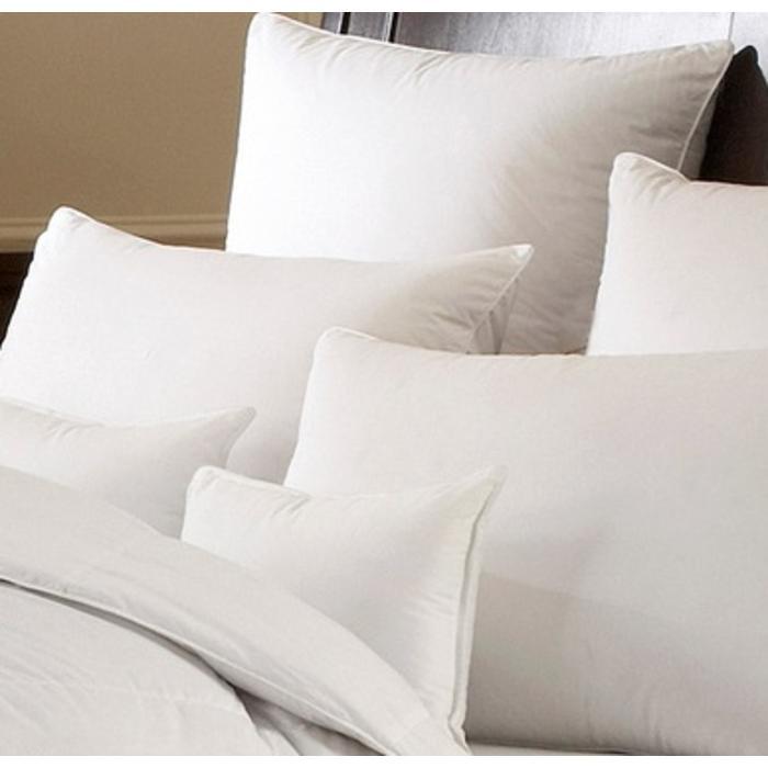 White Goose Down Batiste Pillow with label 16oz.