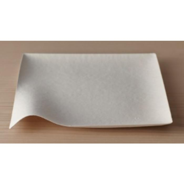 Paper Plate - Kaku Extra Large Square (Pack of 8)