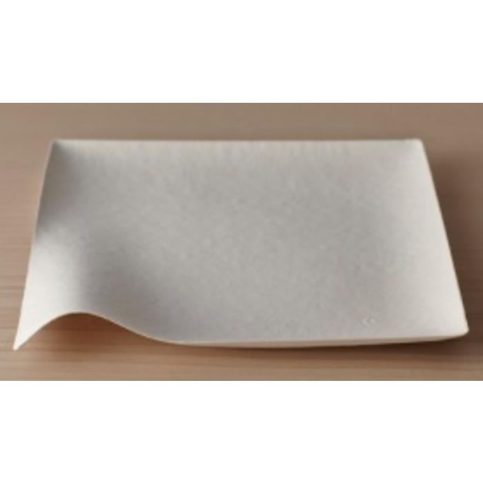 Paper Plate - Kaku Large Square (Pack of 8)