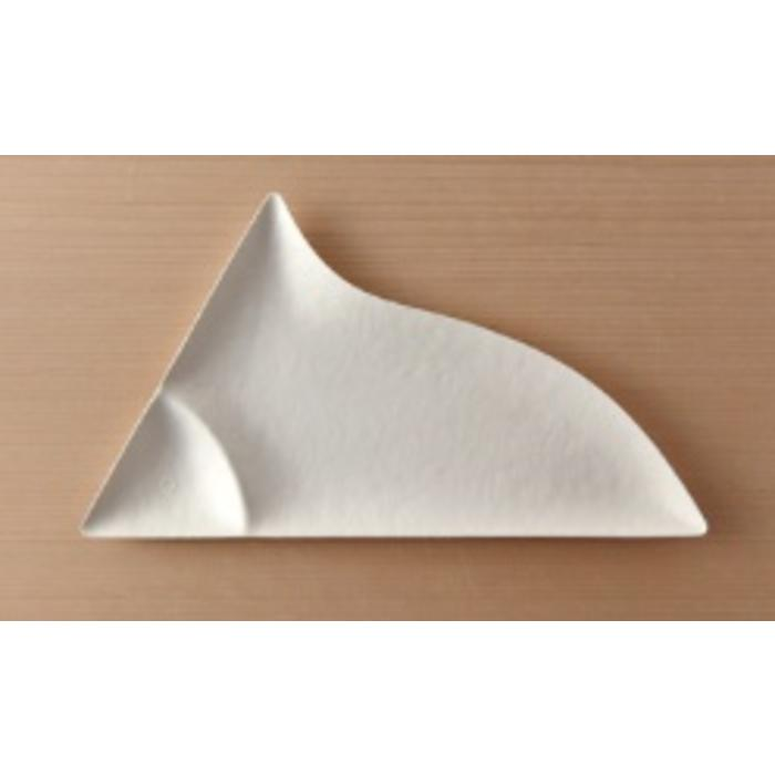 Paper Plate - Triangle Appetizer (Pack of 8)