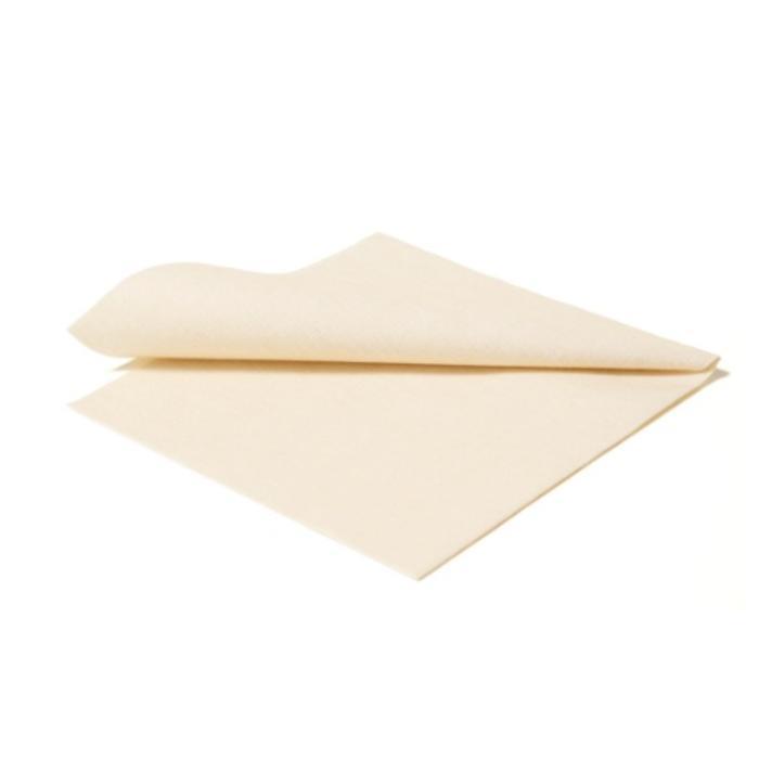 Paper napkin plain, champagne