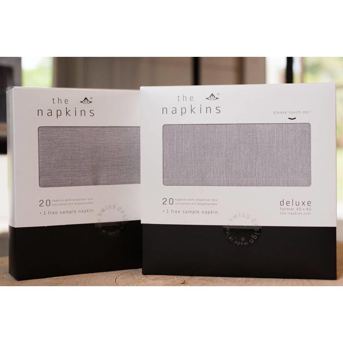Paper Napkin Classic, SILVER GREY