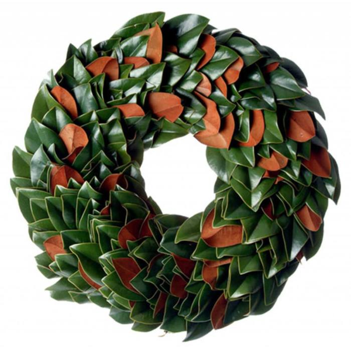 The Original Magnolia Wreath 18""