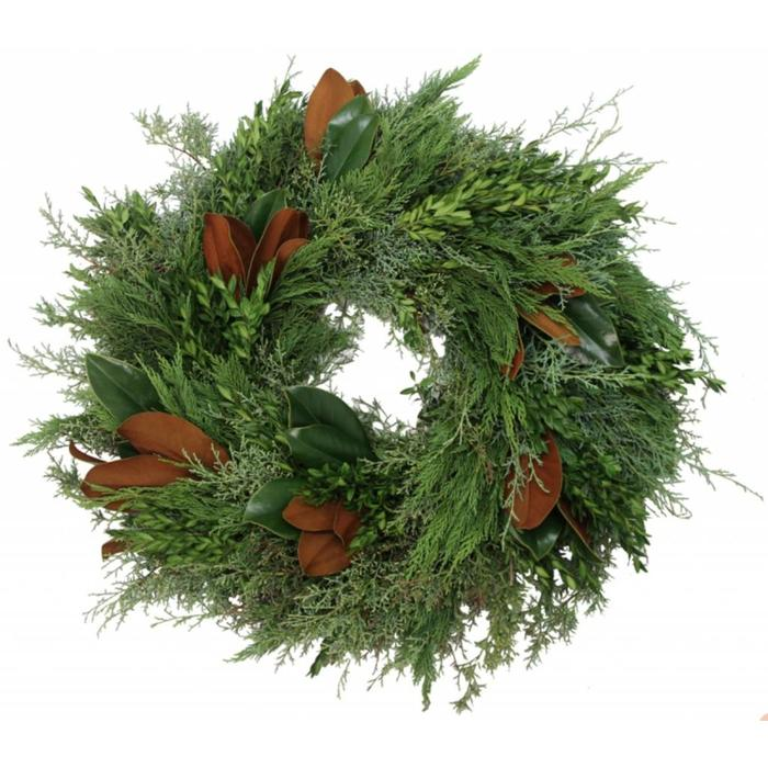 Fresh Bunches Wreath 24""
