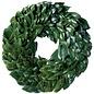"All Green Magnolia Wreath 30"""
