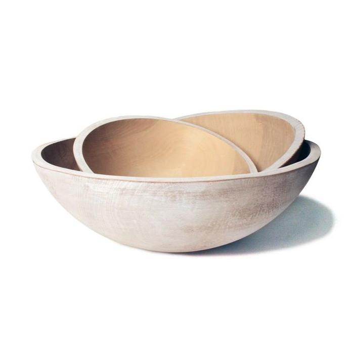 FP Wooden Peasant Bowl - 15""